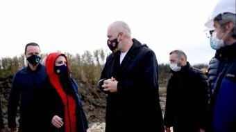 Türkiye'nin Arnavutluk'ta inşa edeceği hastanenin şantiyesi açıldı