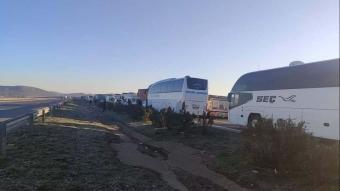 Gaziantep'te tır kazası! Yol trafiğe kapandı
