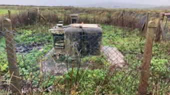 Kimyasal tuvalet, bomba gücü göstergesi, radyasyon ölçüm cihazı... Nükleer sığınak açık artırmaya çıkarıldı
