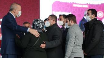 başkan Erdoğan, Elazığ'da deprem konutları anahtar teslim törenine katıldı