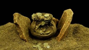 Aizanoi Antik Kenti'nde ''Roma'nın sikke koleksiyonu'' bulundu