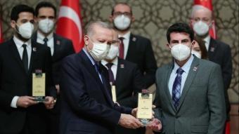 Başkan Erdoğan, TÜBA Bilim Ödülleri Töreni'ne katıldı