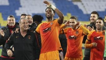 Galatasaray'da Fatih Terim'in dokunduğu altına dönüşüyor