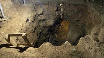 Evde 12 metre derinliğinde tünel kazan 7 zanlı suçüstü yakalandı