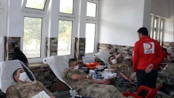 Safranbolu'da 606 Mehmetçik kan bağışı yaptı