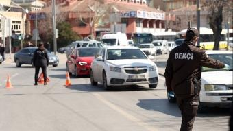 Çok yüksek riskli kategorisindeki Konya'da, polis denetimlerini sıklaştırdı