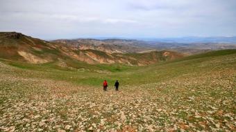 Elazığ'da 2 bin 340 rakımlı Haroğlu Dağı'nda 2 bin 340 rakımda tesadüfen keşfedildi!