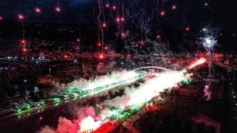 Bursaspor'dan coşkulu 58. yıl kutlaması