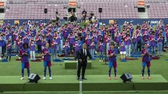 FC Barcelona yeni sezon formalarını tanıttı