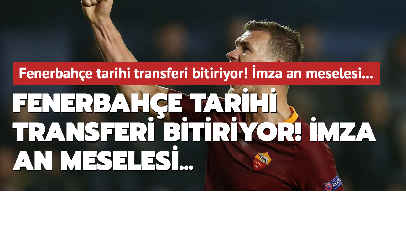 Fenerbahçe tarihi transferi bitiriyor! İmza an meselesi...