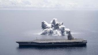 Donanması'nın patlayıcı testi 3,9 büyüklüğünde deprem yarattı