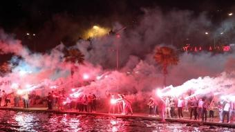 Samsunspor'da coşkulu 56'ncı yıl kutlaması
