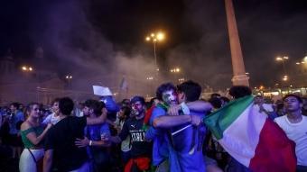 EURO 2020: İtalya'da yarı final coşkusu