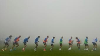Fenerbahçe, Topuk Yaylası'nda çalışmalarını sürdürüyor