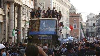 EURO 2020 şampiyonu İtalya, şampiyonluk turu attı