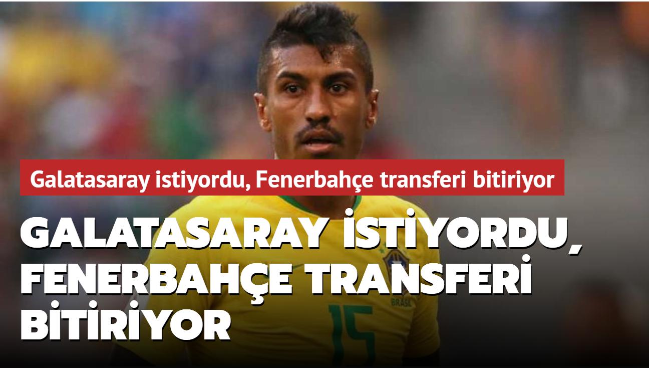 Galatasaray istiyordu, Fenerbahçe transferi bitiriyor
