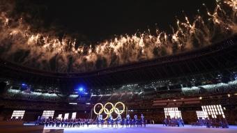 2020 Tokyo Olimpiyatları görkemli törenle açıldı