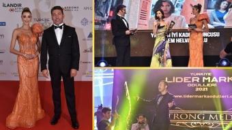 2. Türkiye Lider Marka Ödülleri Töreni muhteşem geceyle sahiplerini buldu