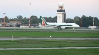 İtalyan havayolu firması Alitalia son uçuşuyla faaliyetlerini noktaladı