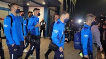 Fenerbahçe, Trabzon'a ayak bastı