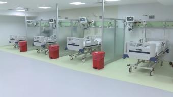 Cerrahpaşa'da yeni yoğun bakım servisleri açıldı