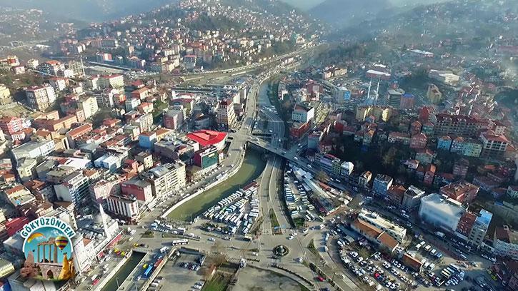 Taşkömürünün kalbi Zonguldak'a bir de Gökyüzünden bakalım