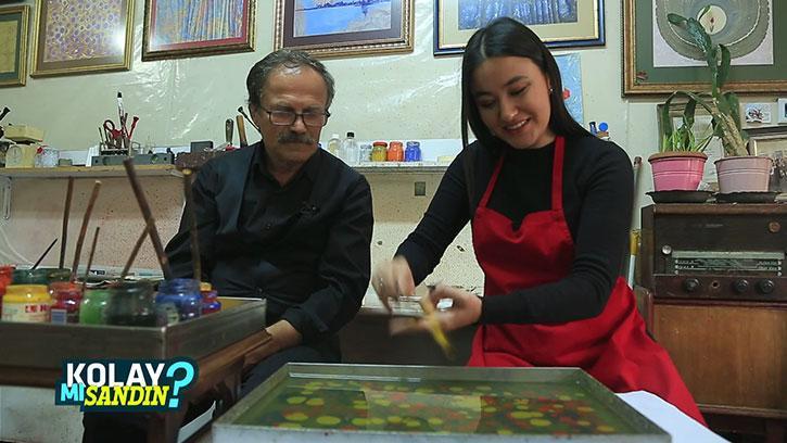 Ebru Sanatçısı Olmak Kolay Mı? | #KolayMıSandın?