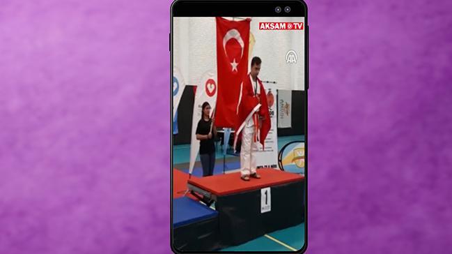 Ahmet Talha Erdem'den Tarihi Şampiyonluk #AkşamStory