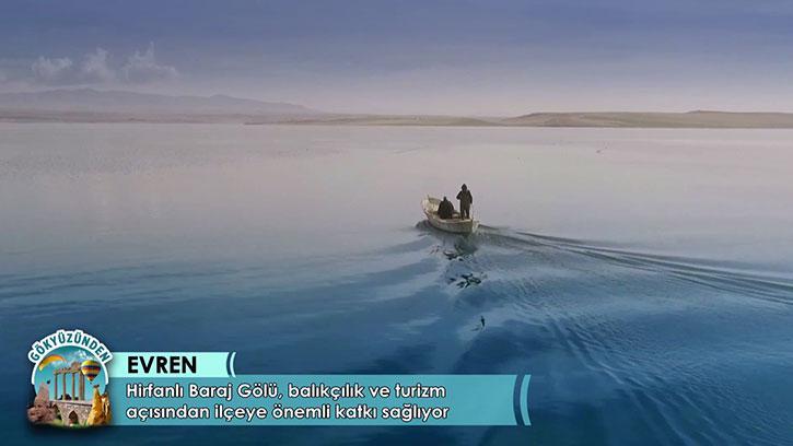 İç Anadolu Bölgesi'nin 'Denizi': Hirfanlı Baraj Gölü