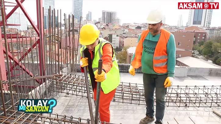 İnşaat İşçisi Olmak Kolay Mı Sandın? | #KolayMıSandın
