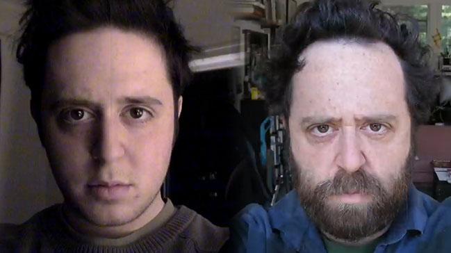 20 Yıl Boyunca Her Gün Selfie Çeken Adamın Değişimi