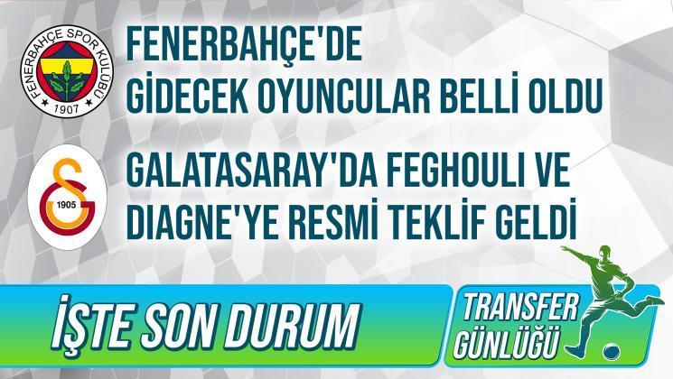Feghouli ve Diagne'ye Resmi Teklif Geldi - Fenerbahçe'de Gidecekler Belli Oldu