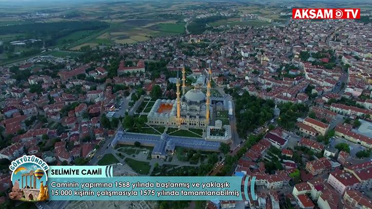 Osmanlı Mimarisinin Zirve Noktası: Edirne Selimiye Camii