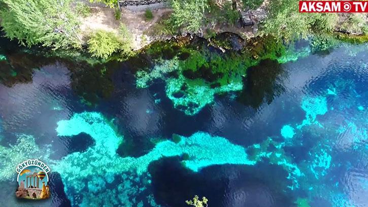 Turkuaz Güzellik: Gökpınar Gölü | #Gökyüzünden
