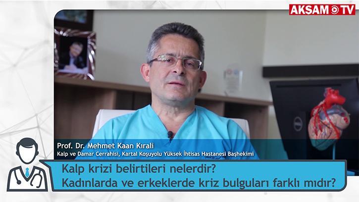 Kalp Krizi Belirtileri Nelerdir? Kadınlarda ve Erkeklerde Kriz Bulguları Farklı Mıdır? | Prof. Dr. Mehmet Kaan Kırali