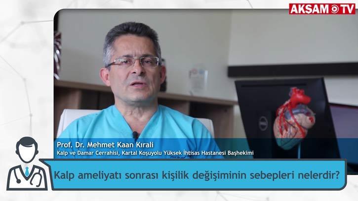 Kalp Ameliyatı Kişiliği Değiştiriyor Mu? | Prof. Dr. Mehmet Kaan Kırali