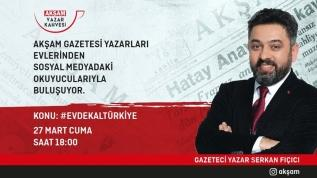 Gazeteci yazar Serkan Fıçıcı, 'Yazar Kahvesi'nde sizlerden gelen soruları yanıtladı