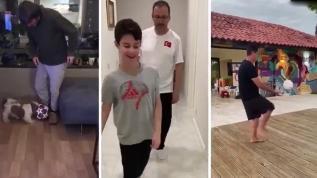 Gençlik ve Spor Bakanlığından 'Evde kal, hareketsiz kalma' videosu