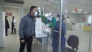 Sağlık çalışanlarına kazandırılan bu kabin sayesinde hastalarla temas sıfıra iniyor