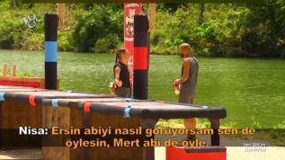 Survivor'da Sercan Nisa'ya açıldı mı?