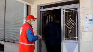 İhtiyaç sahiplerine ramazan pidesi dağıtıldı