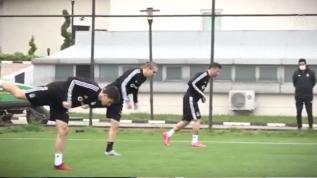 Beşiktaş çalışmalara başladı