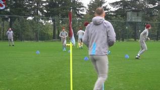 Trabzonspor gruplar halinde çalışıyor