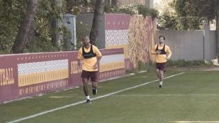 Galatasaray çalışmalarına devam ediyor