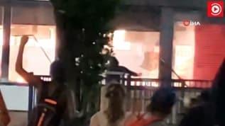 ABD'de gerilim artıyor. Restoran ateşe verildi!