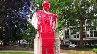 Belçika'da sömürgeci geçmişi hatırlatan heykel ve büstlere saldırılar devam ediyor