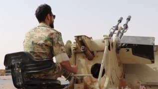 Libya ordusu Sirte cephe hattında hazırlıklarını sürdürüyor