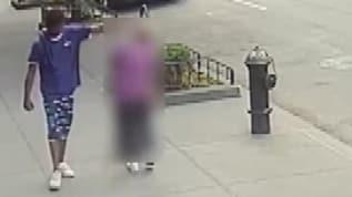 ABD'de 92 yaşındaki kadına vuran adamın saldırı anı kameraya böyle yansıdı