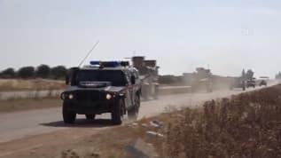 İdlib'de Türk-Rus Birleşik Kara Devriyesi