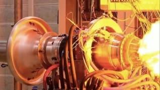 İlk yerli füze motorunun testi yapıldı